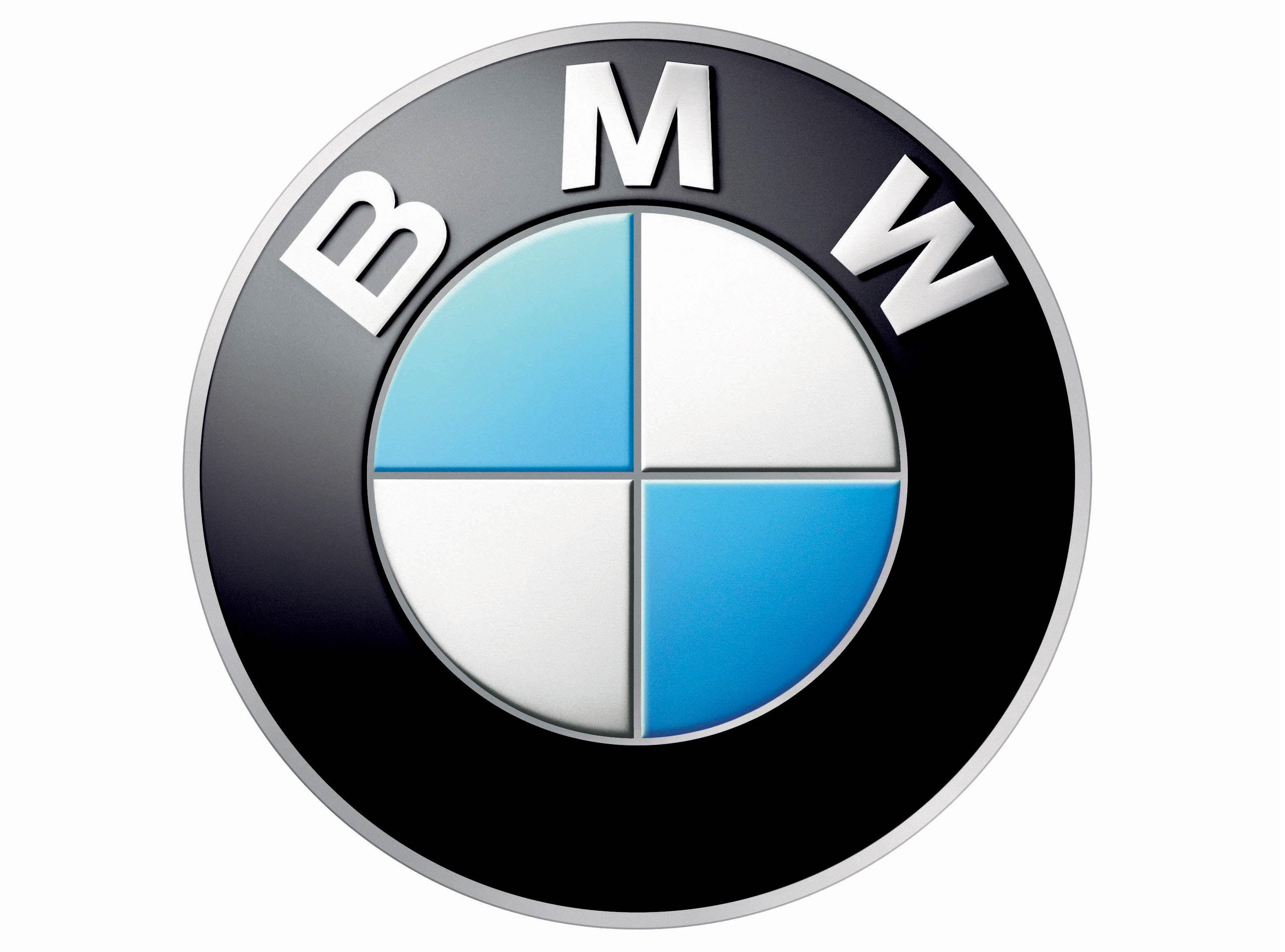 ¿Qué representa el logo de BMW?
