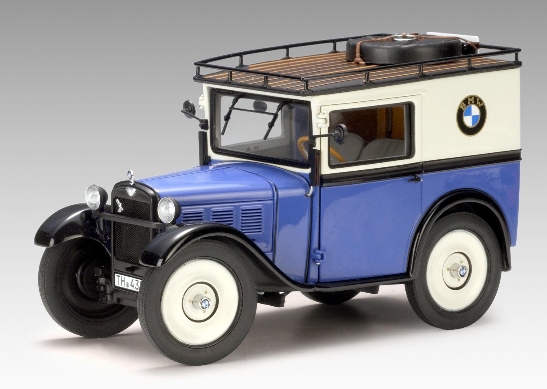 ¿En qué año fabricó BMW su primer automóvil en serie?