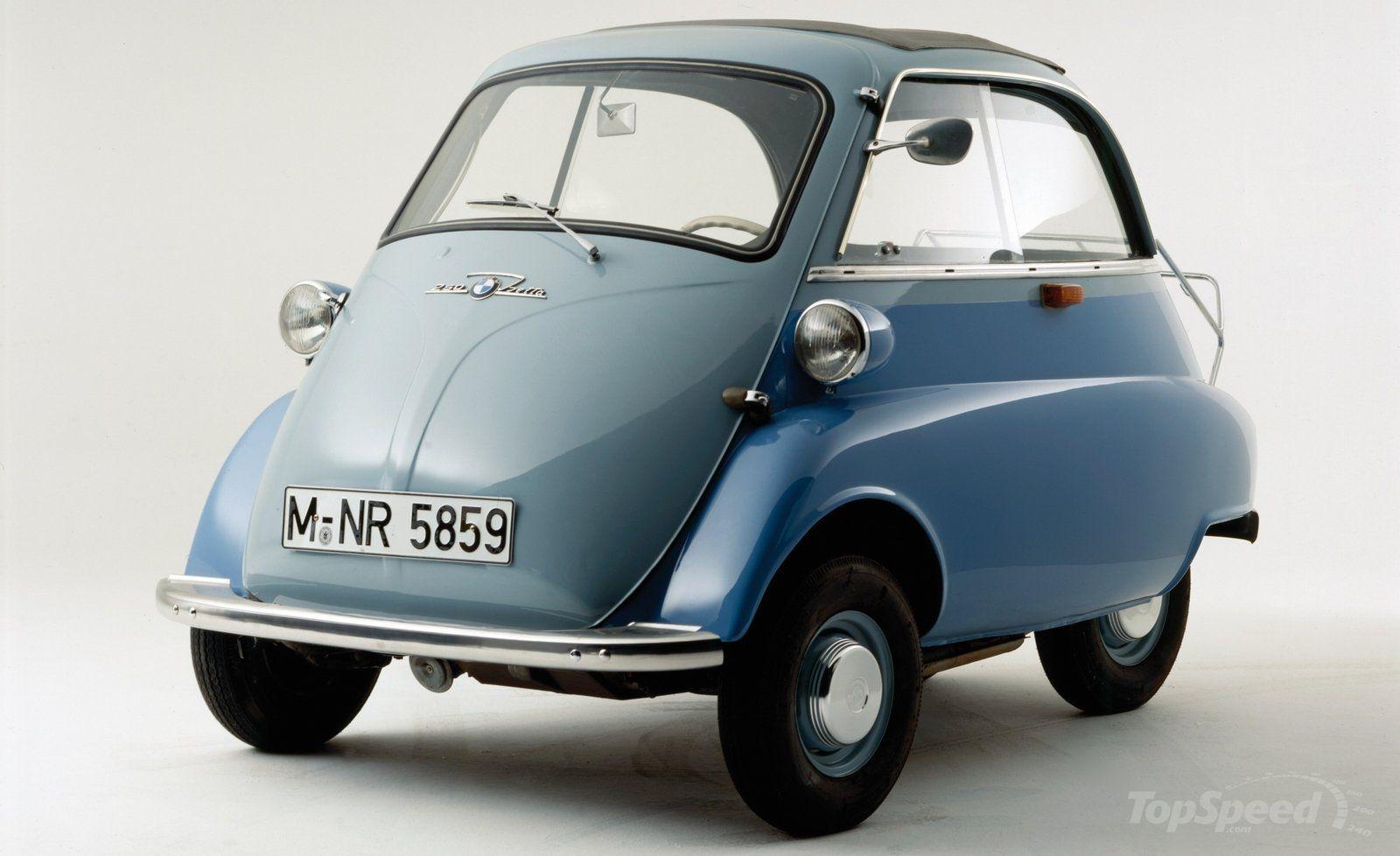 ¿Qué famoso microcoche fue fabricado por BMW?