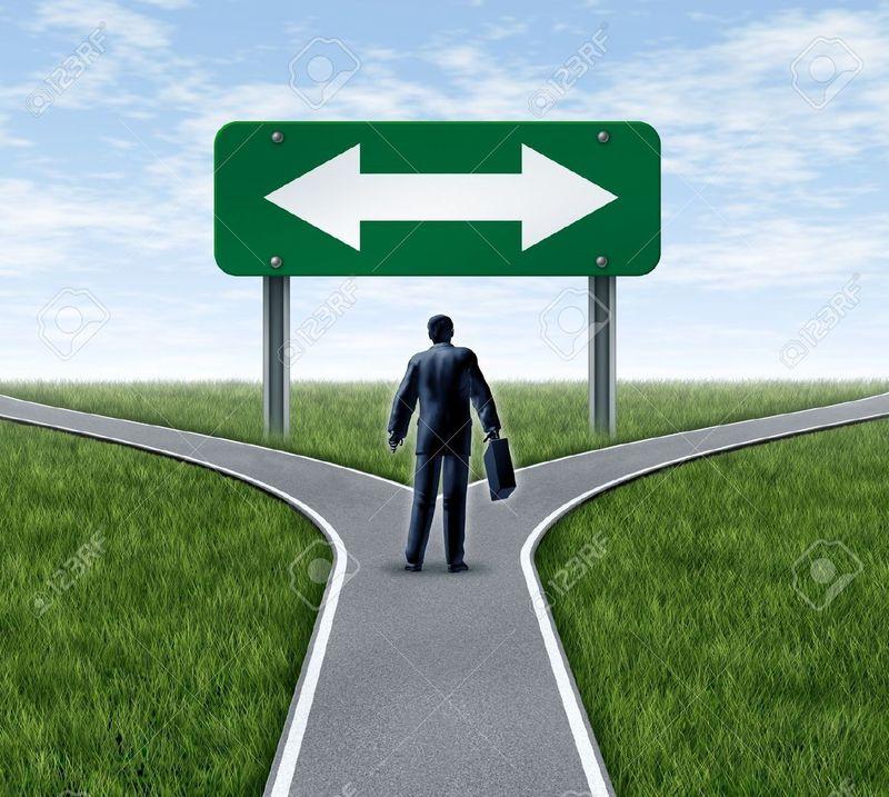 Ya tienes tu caja en poder pero hay dos caminos..... ¿Cuál eliges?