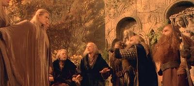 Eres Frodo en el concilio de Elrond. ¡La que se ha armado aquí! ¿Qué haces?