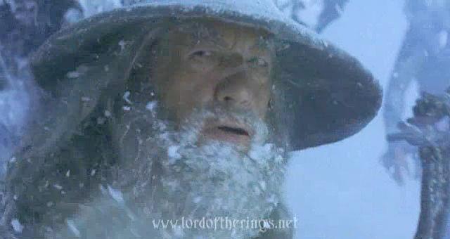 Eres Gandalf en el paso de Caradhras. Frodo propone atravesar Moria. ¿Qué haces?