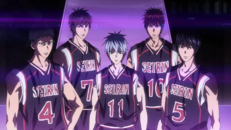 ¿Cuántas veces se enfrenta el Seirin (en partidos oficiales) contra la Generación de los milagros en el anime?