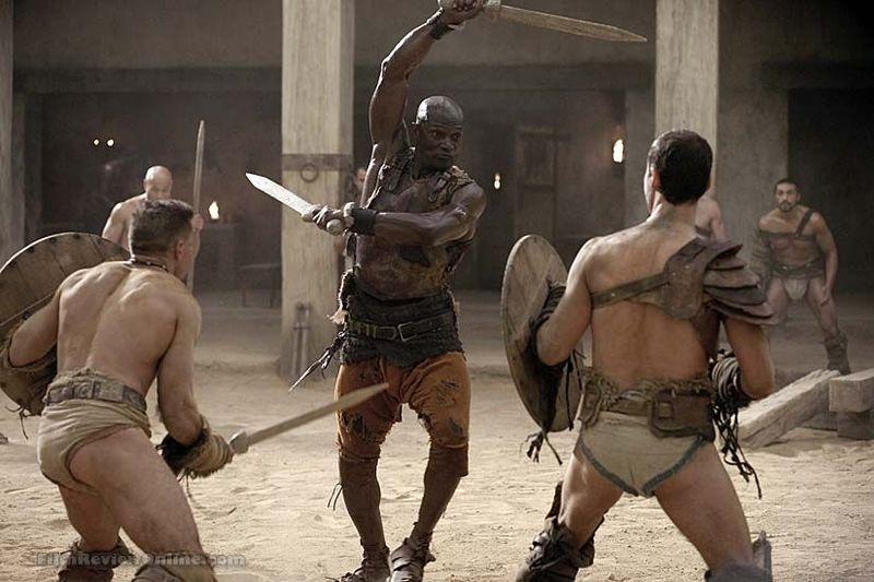 ¿Cuál es el nombre del entrenador de gladiadores?