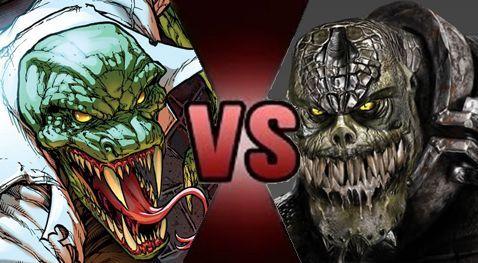 ¿ Lagarto o Killer Croc  ?