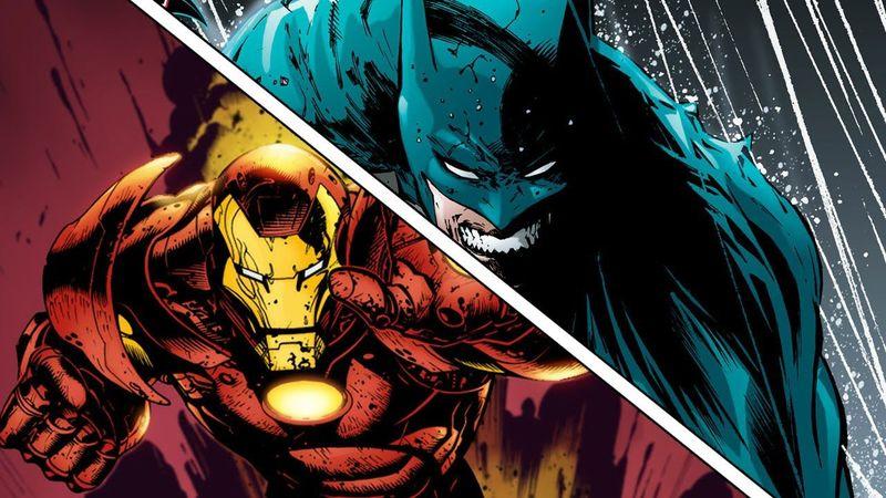 Una fuerte ¿ Iron Man o Batman ?