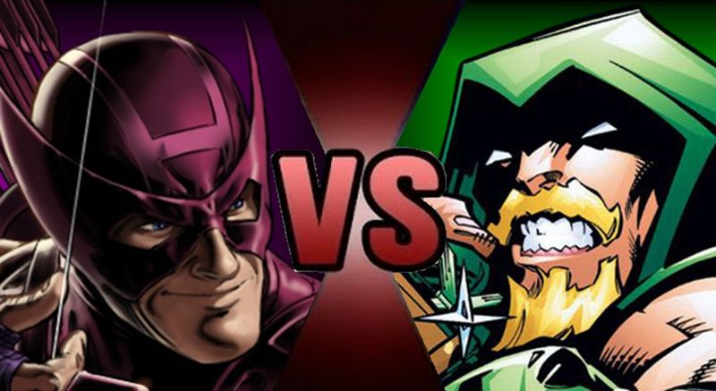 ¿ Hawkeye o Green Arrow ?
