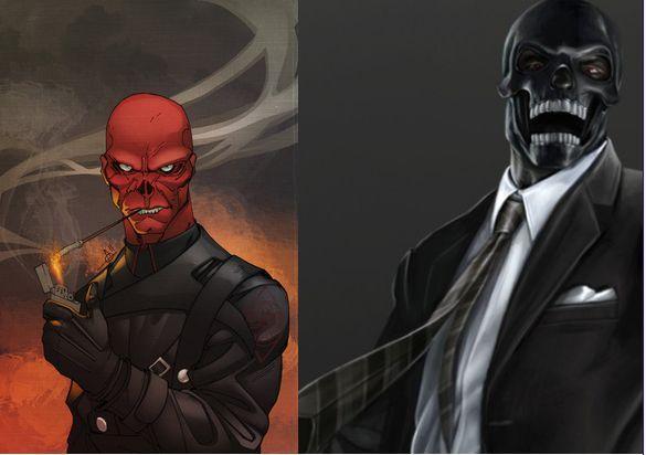 ¿ Calavera roja o Máscara negra ?