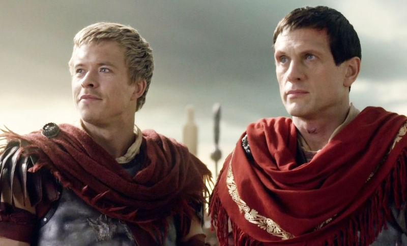 ¿Quienes son los enemigos de Spartaco en la última temporada?