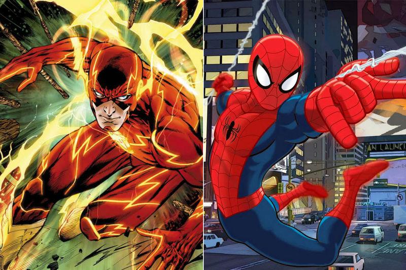 ¿ Flash o Spiderman ?