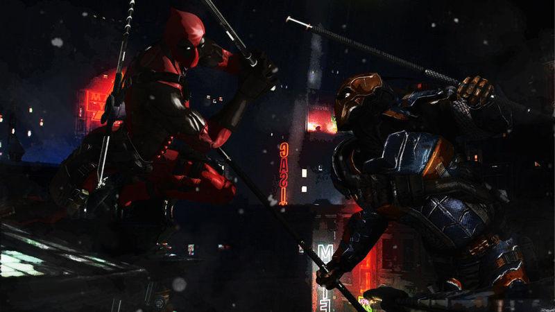 ¿ Deadpool o Deathstroke ?