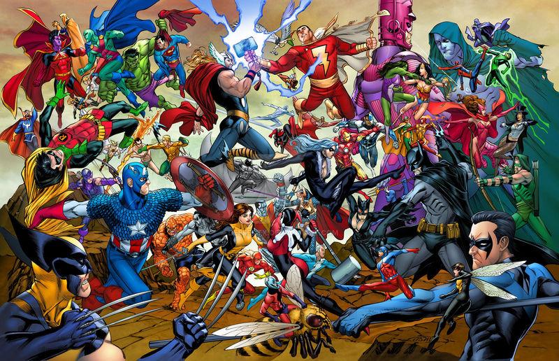 14236 - Marvel vs DC Comics ¿Con cuál te quedas?