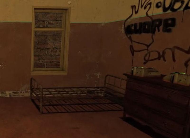 Vuelves a tu edificio deprimido pues tus dos mejores amigos han muerto a palos y disparos. Te vas a dormir...