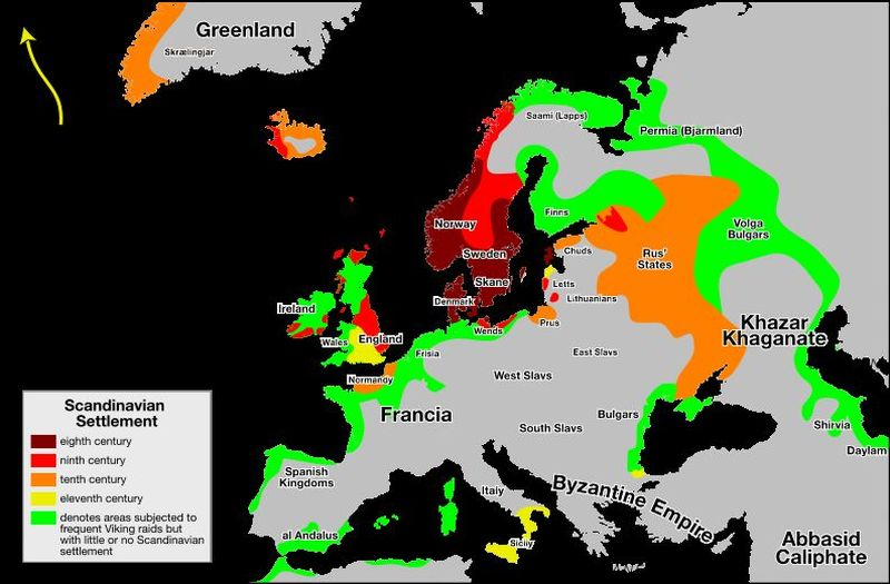 ¿Los Vikingos llamaron Vinlandia a lo que hoy es la Columbia Británica?