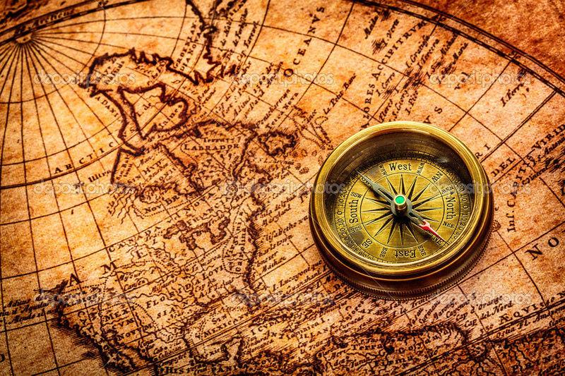 Si una persona está situada a 90º de latitud norte y tiene una aguja imantada flotando en una esfera. La aguja...