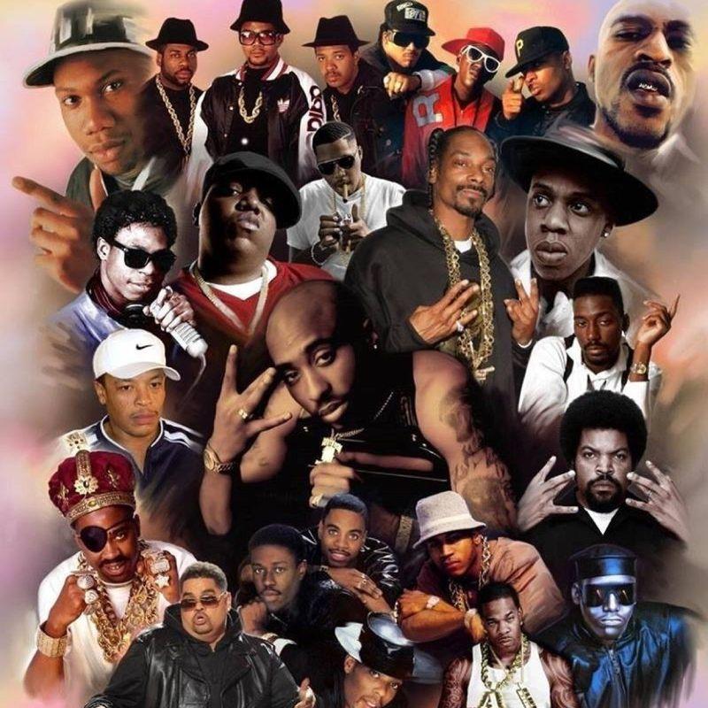 14458 - ¿Conoces el nombre de estos grupos de old school hip hop? (Fácil)