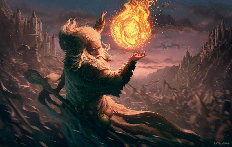 Te ves obligado a lanzar un hechizo ¿Cuál escoges?