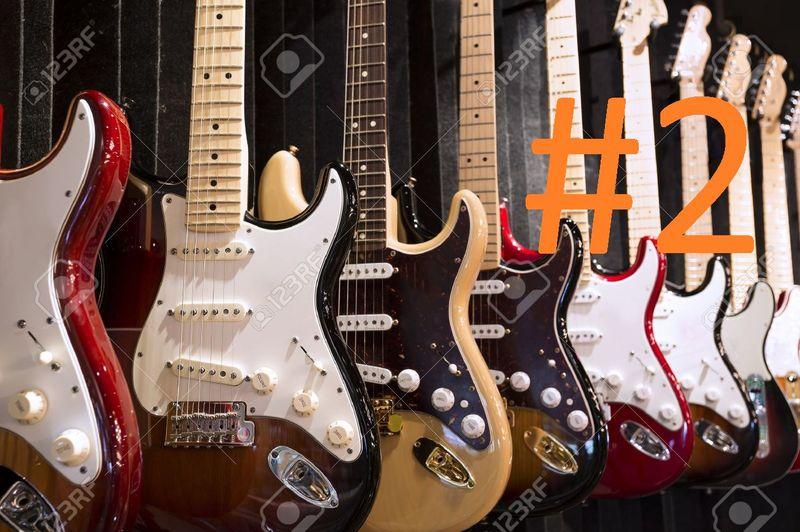 14630 - ¿Puedes reconocer qué modelo de guitarra es cada una de éstas? Nivel Medio