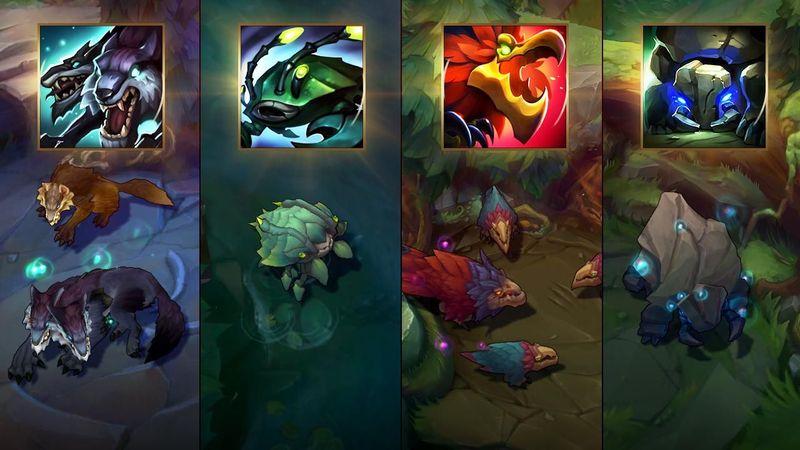 El jungla enemigo intenta invadirte los primeros minutos de partida y lo ves venir gracias a tu visión en el mapa. ¿Que haces?