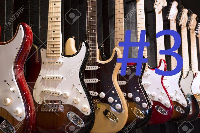 14681 - ¿Puedes reconocer qué modelo de guitarra es cada una de éstas? Nivel Dificil