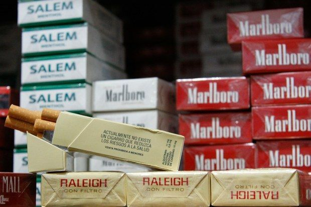 ¿Qué marca de cigarrillos fuma?
