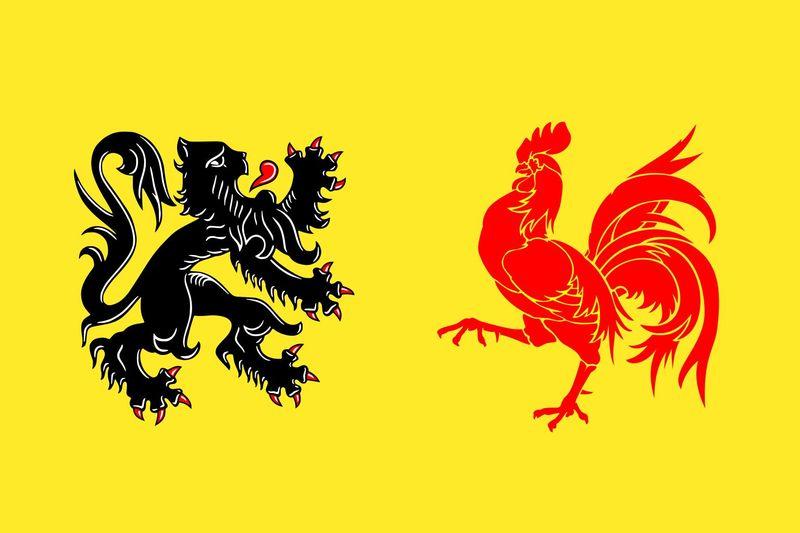 Es bien conocido que Bélgica se divide en dos grandes regiones: Flandes y Valonia, ¿pero sabrías identificar cuál es cada una?