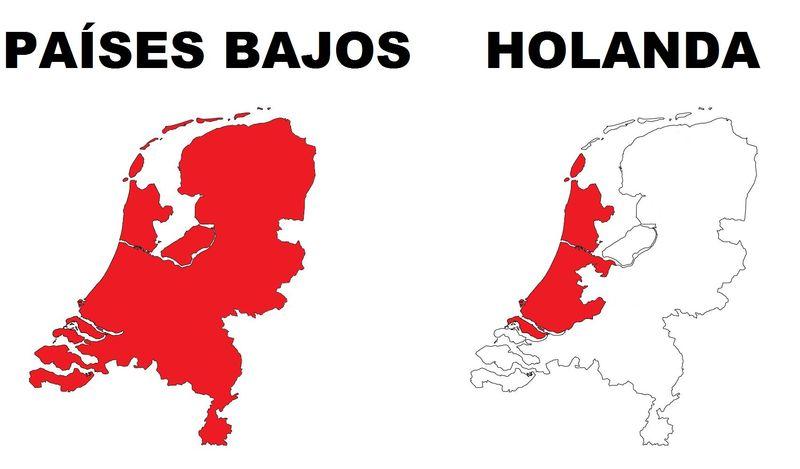 Holanda no es un país, es una región de los Países Bajos. Así pues, ¿cuál de estas ciudades de los Países Bajos no es holandesa?