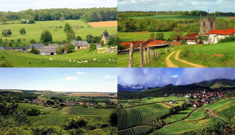 La división territorial de Francia cambió hace poco. ¿Cuáles de estas regiones forman hoy en día UNA sola a nivel adminstrativo?