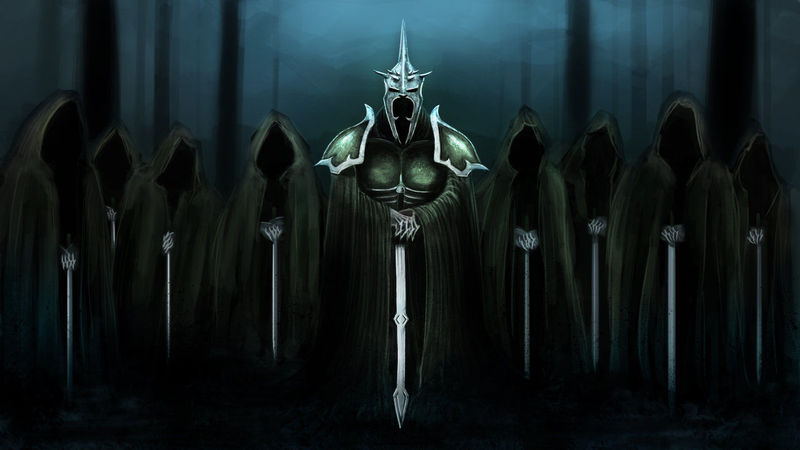 Black knights of Sauron, you´re made of iron...