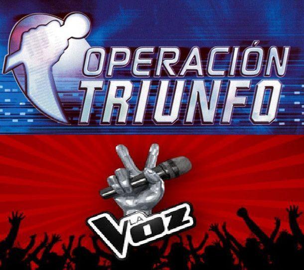 14810 - Relaciona a estos cantantes con la edición de Operación Triunfo  o La Voz España en la que participaron.