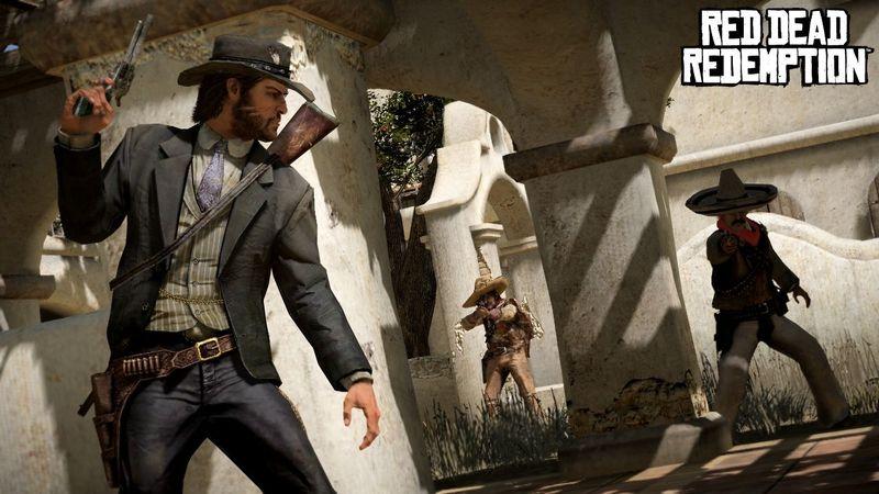 Los bandidos os detectan y empezáis un tiroteo a gran escala...