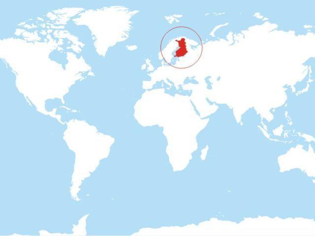 ¿Cómo se llama el país señalado?