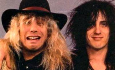¿En que año se separaron Steve Adler e Izzy Stradlin de la banda, respectivamente?