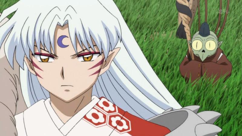 ¿Cómo se llama el sirviente de Sesshomaru?
