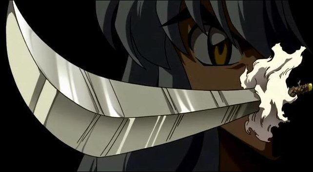 ¿Cómo se llama la espada de InuYasha?
