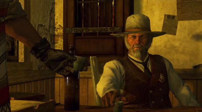 Un vigilante los abate con su winchester de repetición. Entras en la comisaría y ves al comisario preocupado...