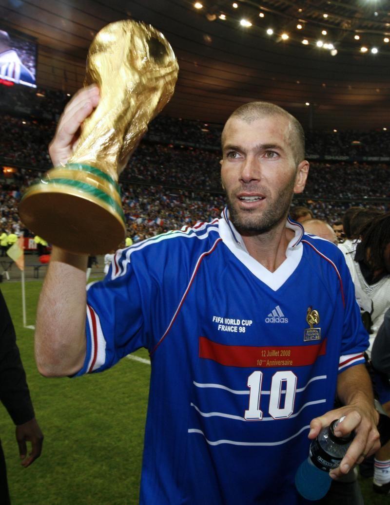 ¿Cuántos goles marcó Zidane en la final del mundial en 1998?