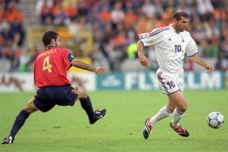 ¿Contra quién jugó la Francia de Zidane la final de la Euro 2000?