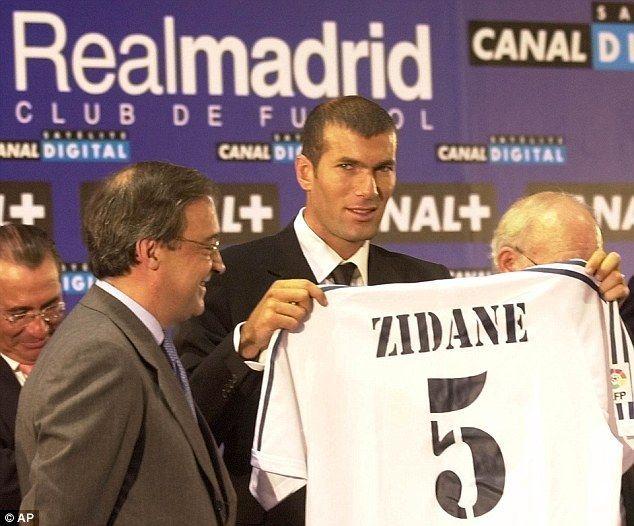 ¿En qué año fichó por el Real Madrid?