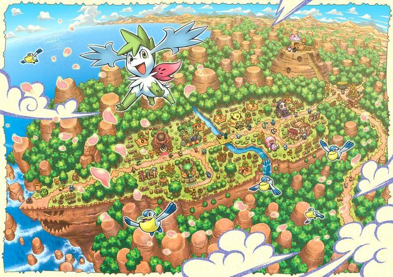 15064 - ¿Cuánto sabes de los Pokémon Mundo Misterioso clásicos?