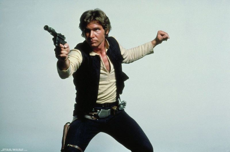 Han Solo joven: Star Wars. Actual: Harrison Ford/Ninguno