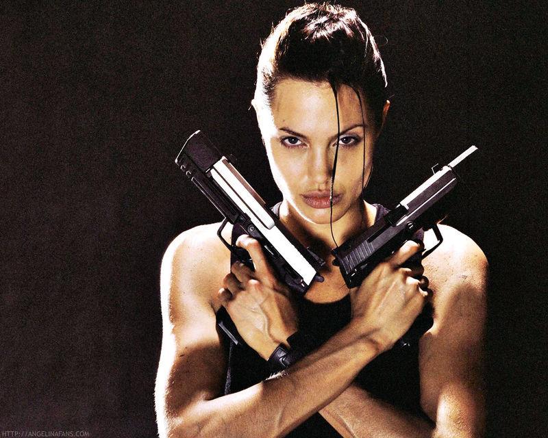 Tomb Raider. Actual: Angelina Jolie