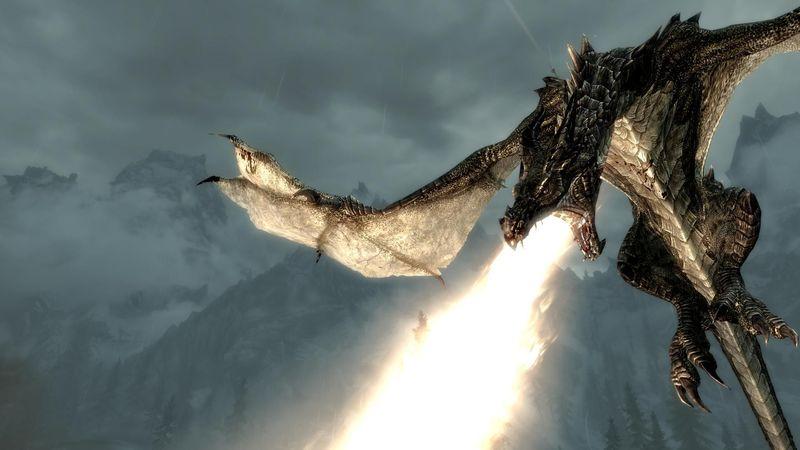 ¿Cuál el primer dragón al que se enfrenta el Dovahkiin?