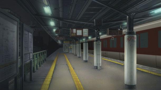 Como sea, te logran arrastrar a la estación y resulta que si hay algo paranormal sucediendo, tú...