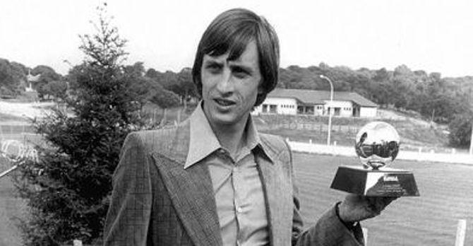 ¿Cuántos balones de oro ganó Johan Cruyff?
