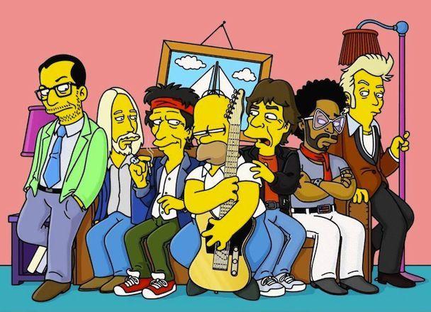 15336 - Los Simpson y el rock