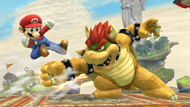 (Super Mario Bros) Mario VS Bowser