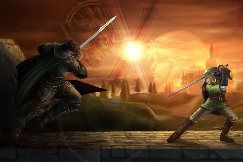 (The Legend of Zelda) Link VS Ganondorf