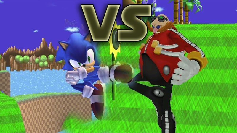(Sonic the hedgedog) Sonic VS Dr. Eggman