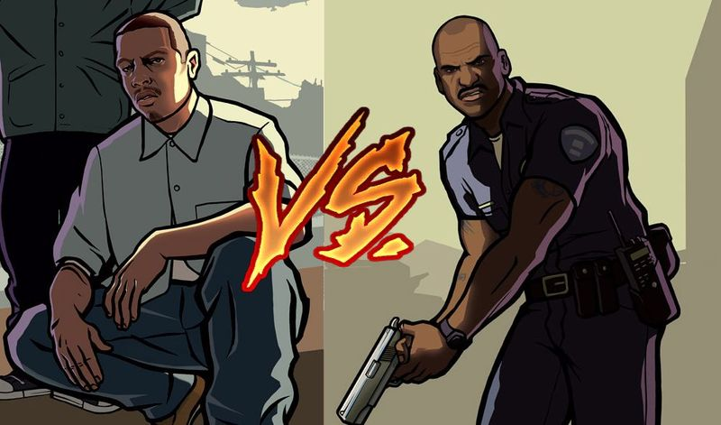 (GTA San Andreas) Carl Johnson (CJ) VS Tenpenny